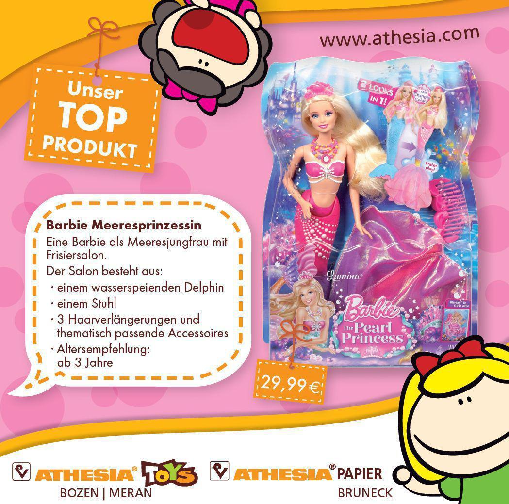 Il Nostro Prodotto Top Barbie Principessa Delle Perle Looptown