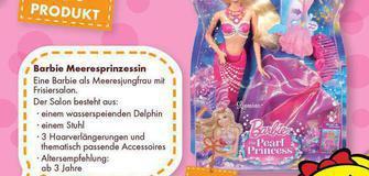 Unser TOP Produkt - Barbie Meeresprinzessin