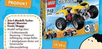 Unser Top Produkt das 3-in-1-Modell: Turbo - Quad/Monster Truck/Buggy
