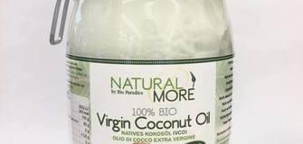 Olio di cocco nativo (VCO) - pressato a freddo - Natural & More 1000 gr.- ADESSO SOLO € 19,90