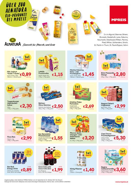 Aktuelle Angebote bei Mpreis