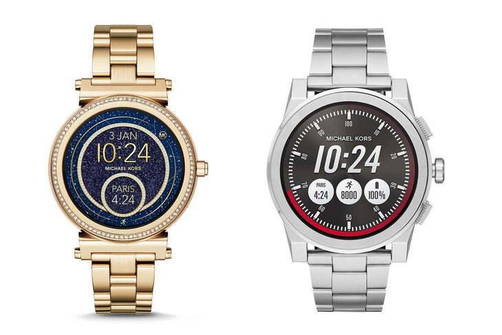 Michael Kors next-generation smartwatches