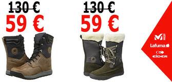 Damen und Herren Winterschuhe um 59 €