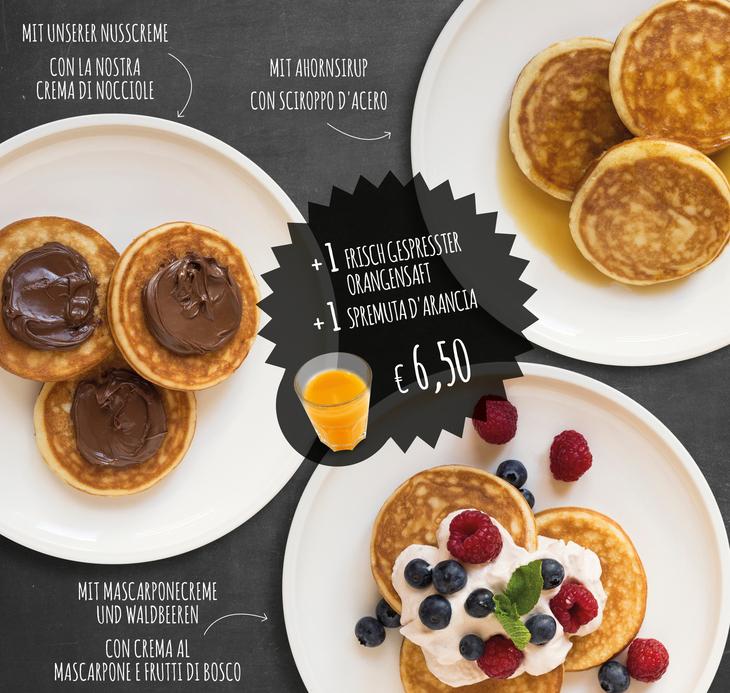 Warme Pancakes