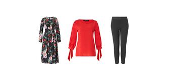 Kleid 83,99 € -  Bluse 41,99 € - Hose 41,99 €