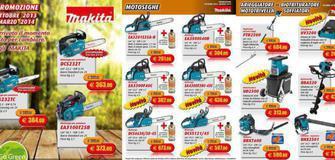 Angebot auf Makita Laubsauger - Motorsägen - Heckenscheren - Schredder - Erdbohrgeräte - Rasenlüfter