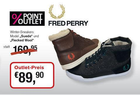 Point Outlet - Fred Perry