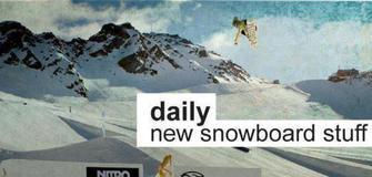 Daily New Snowboard Stuff