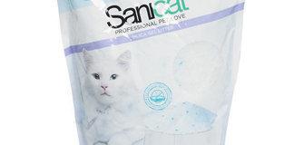 SANICAT Lettiera per gatti, 5lt. OFFERTA: 6,60€ -10% = 5,95€ !