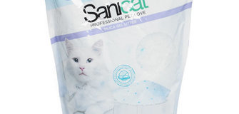 SANICAT Katzenstreu Silizium, 5lt. ANGEBOT: 6,60€ -10% = 5,95€ !