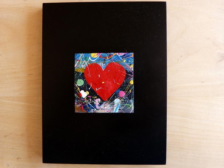quadri e cartoline con cuori