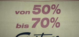 Wir bauen um! -50 bis -70% Rabatte!!