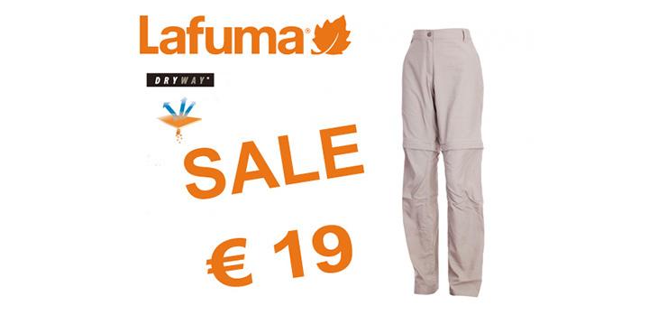 Pantaloni trekking per donna a partire da 19 €