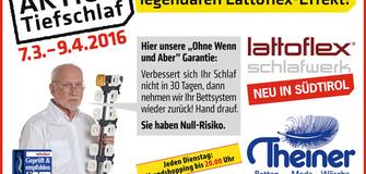 Tiefschlafaktion von Lattoflex!!!!