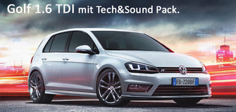 Golf 1.6 TDI con il pachetto 5x5