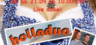 Frühschoppen Live mit dem Holladuo