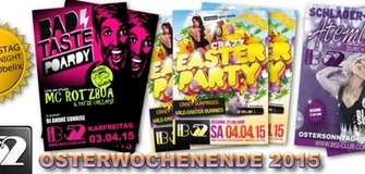 ✯OSTERN 2015✯ SA: Crazy Easter Party ▶▶Eiersuche◀◀  SO: Schlagerdisco ♪ ♫ ♩ ♬