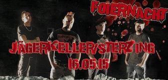 Foiernacht live am 16/05/15 im Jägerkeller