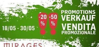 Promotionsverkauf
