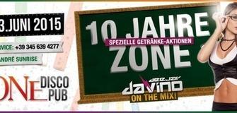 10 Jahre Jubiläum Zone