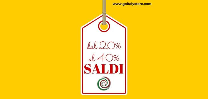 SALDI dal 20% al 40%
