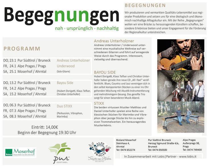 BegegNUNgen - in concerto con Duo Stixx