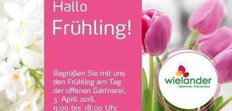 Hallo Frühling! Tag der offenen Gärtnerei