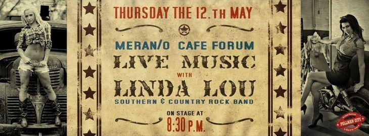 Musica da vivo - LINDA LOU Southern & Country Rock Band