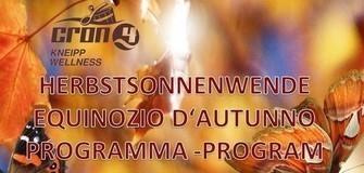Sauna Thementag: Herbstsonnenwende 24.09.2016
