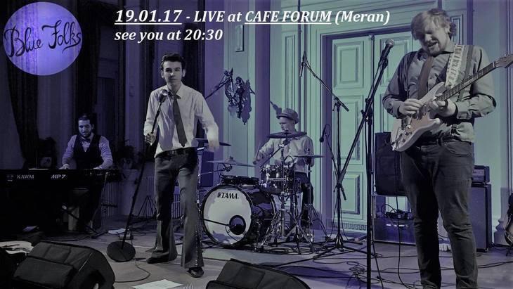 Musica da vivo - BLUE FOLKS