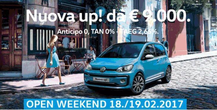 OPEN WEEKEND: 18./19.02.2017