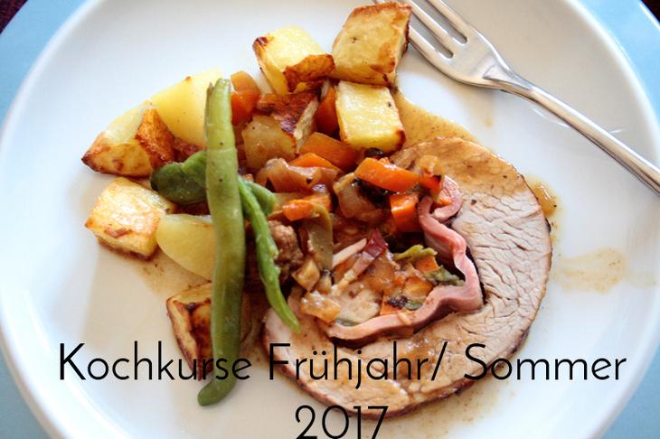 Kochkurse Frühjahr/Sommer 2017