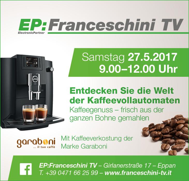 presentazione macchine caffé automatiche e degustazione caffé garaboni