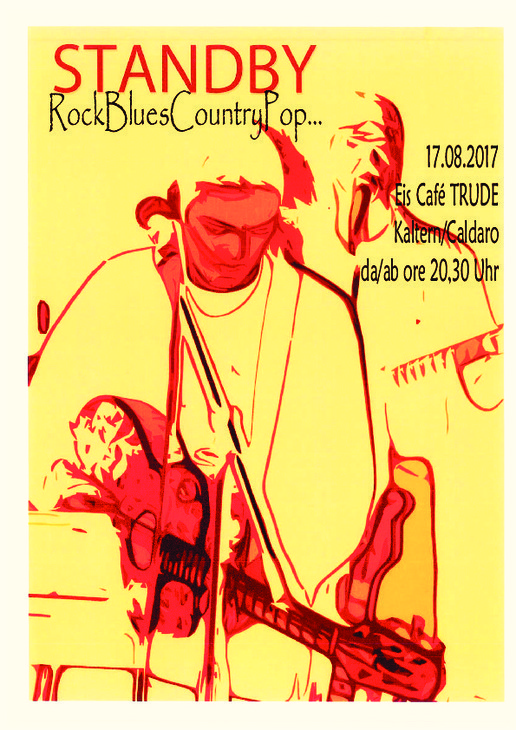 "Giovedi 17.08. ore 20:30 Concerto Rock&Blues ""Stand By""."