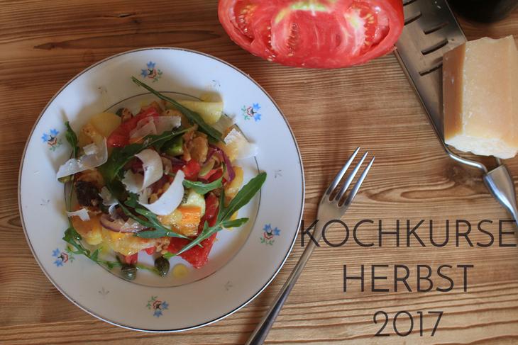 KOCHKURSE HERBST 2017