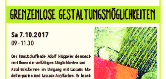 Vorführung bei Rapunzel: Grenzenlose Gestaltungsmöglichkeiten