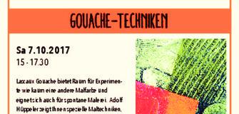 Vorführung bei Rapunzel: Gouache - Techniken