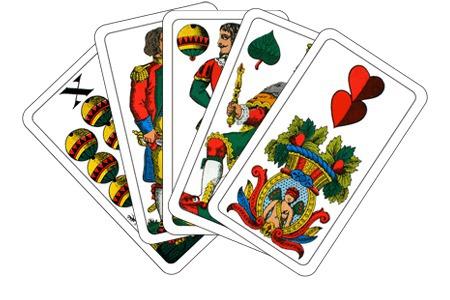 Watten Kartenspiel