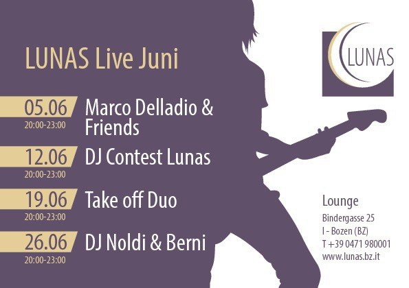 Lunas Lounge Live