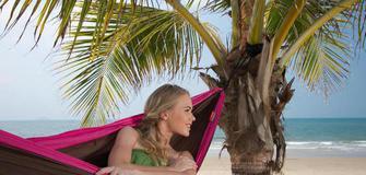 Sell your bed! Die Doppelreisehängematte Colibri von La Siesta für unterwegs