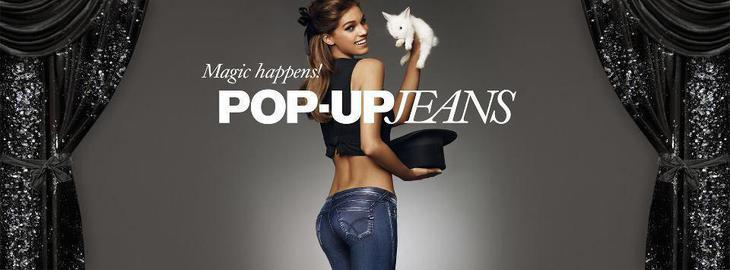 Nel GAS Store Lana: Experience the magic of Pop-Up Jeans!