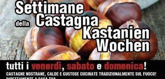 SETTIMANE DELLA CASTAGNA