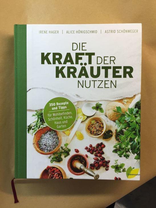"""Buch-Neuerscheinung: """"Die Kraft der Kräuter"""""""