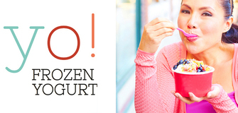 yo! FROZEN YOGURT adesso NUOVO all'Oultet Center Brennero