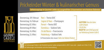 Prickeldner Winter & kulinarischer Genuss