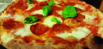 Leckere Pizzas! Neu: Neapolitanische Pizza & Süße Pizza! Vorbeikommen und probieren!
