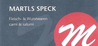 Stempelkarten bei Martls Speck!