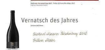 """Vernatsch des Jahres: Meraner Schickenburg """"Graf"""" 2016"""