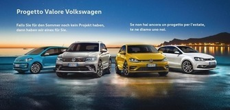 Progetto Valore Volkswagen - Jetzt Angebot sichern!