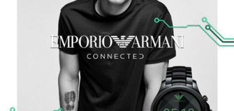 Connected - die Smartwatch von Armani